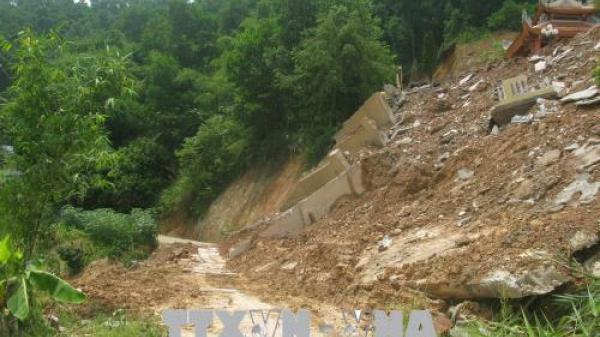 Ảnh hưởng dải hội tụ nhiệt đới gây thiệt hại nặng tại tỉnh Hòa Bình