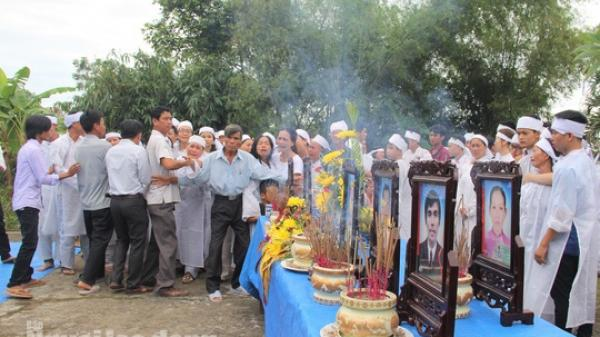 Xe rước dâu gặp nạn: Từ đường Nguyễn Khắc phủ trắng khăn tang