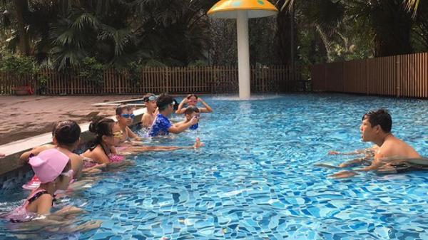 Đoàn viên thanh niên tỉnh Hưng Yên tổ chức nhiều lớp dạy bơi miễn phí cho trẻ em
