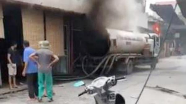 Văn Lâm (Hưng Yên): Nổ xe bồn khiến 1 người t.ử vong tại chỗ