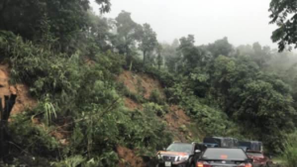 Cảnh báo sạt lở đất tại Lai Châu, Tuyên Quang, Bắc Kạn
