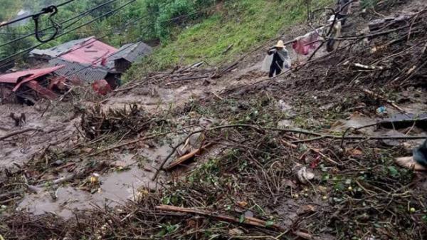 Sạt lở đất nghiêm trọng ở Lai Châu: Vợ một liệt sĩ thiệt mạng