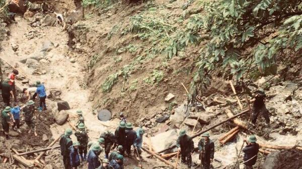Những hình ảnh mới nhất tại xã có 5 người chết do sạt lở đất ở Lai Châu