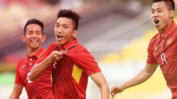 Đoàn Văn Hậu - Trai đẹp U23 Việt Nam tạo bàn thắng đánh bại U23 Oman