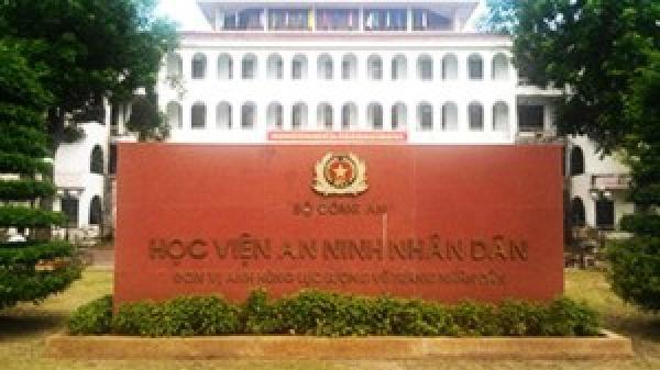Thủ khoa Học viện An ninh Nhân dân đến từ Hòa Bình, Sơn La, Lạng Sơn