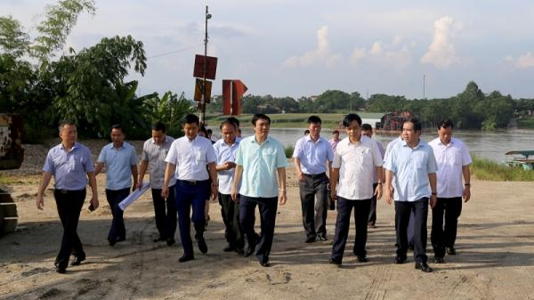 Tỉnh Vĩnh Phúc - Phú Thọ thống nhất xây cầu qua sông Lô