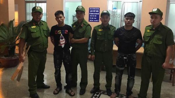 2 thanh niên 9X quê Phú Thọ bị bắt trong vụ 100 thanh niên đeo khăn quàng đỏ hỗn chiến