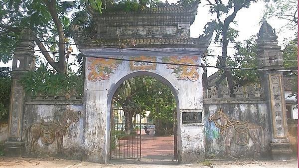 Điều tra, làm rõ vụ mất trộm tại Di tích đền Hậu ở Khoái Châu, Hưng Yên