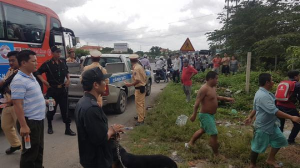 CLIP: Công an nổ súng bắt hàng trăm học viên cai nghiện trốn trại