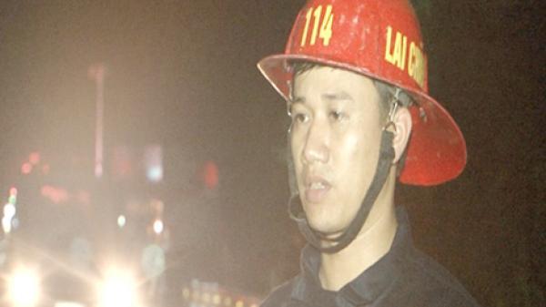 Lai Châu: Người cảnh sát cứu hộ dũng cảm cứu dân