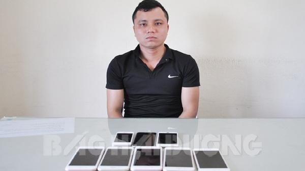 Hải Dương: Phát hiên và bắt giữ kẻ chuyên cướp giật điện thoại iPhone