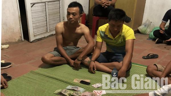Bắc Giang: Bắt giữ 9 đối tượng đánh bạc tại Công ty TNHH Bích Thủy