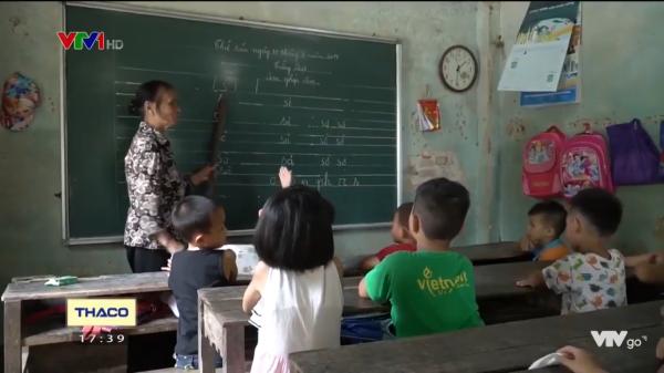 Lớp học miễn phí cho trẻ em nghèo của bà giáo làng ở Hiệp Hòa, Bắc Giang