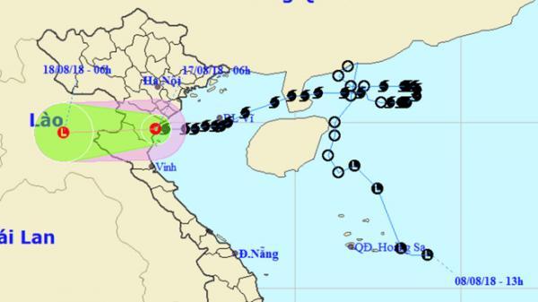Bão số 4 - Bebinca suy yếu, nhiều nơi mưa lớn