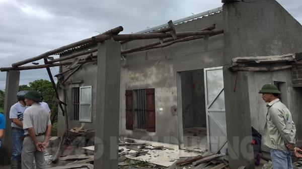 XÓT XA: Chí Linh tan hoang sau cơn lốc xoáy
