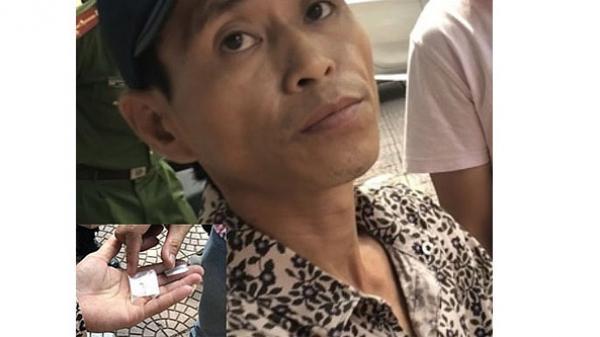 """Đối tượng Hưng Yên ném ma túy khi """"đụng"""" cảnh sát 141"""
