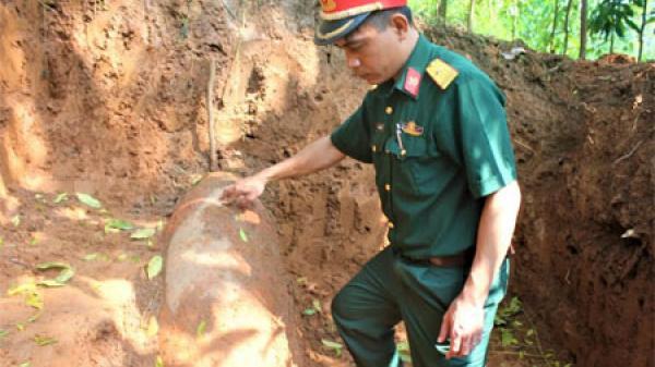 NÓNG: Văn Yên phát hiện quả b.om Mỹ nặng khoảng 350kg