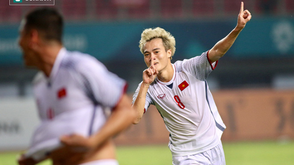 Người hùng Văn Toàn sút tung lưới U23 Syria ở phút 108, đưa U23 Việt Nam vào bán kết