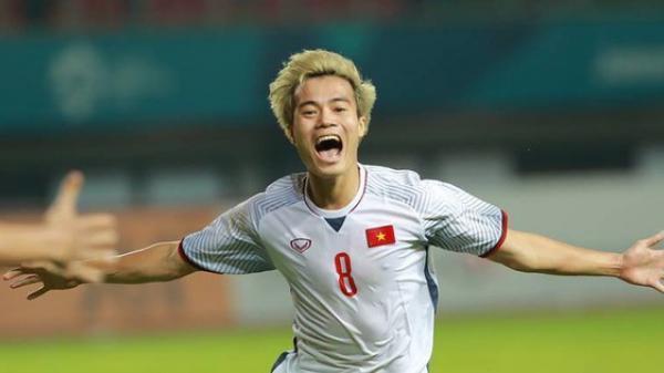 Cận cảnh bàn thắng bằng VÀNG của Văn Toàn đưa Việt Nam giành vé vào bán kết ASIAD 2018