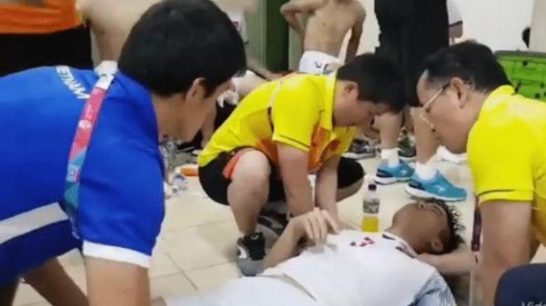 """Trợ lý ngôn ngữ của HLV Park Hang-seo: """"Duy Mạnh chuột rút toàn thân, người cứng đơ như cục gạch"""""""