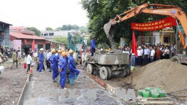 HOT: Yên Bái chính thức khởi công xây dựng tuyến đường kết nối tỉnh Lào Cai