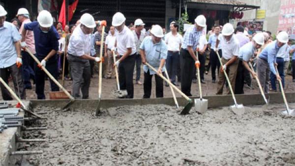 Văn Yên khởi công xây dựng tuyến đường Đông An - Châu Quế Thượng