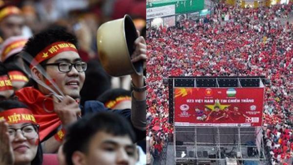 NÓNG: Bắc Giang lắp màn hình LED tại Nhà thi đấu TDTT tỉnh để người hâm hộ cổ vũ Việt Nam