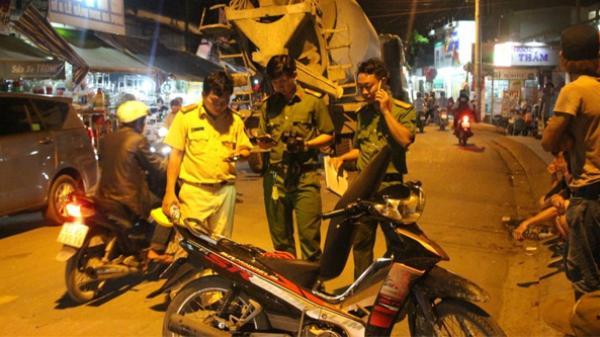 Bắc Giang: Đi bão Việt Nam thắng Syria, 3 người bị thương vì va chạm giao thông