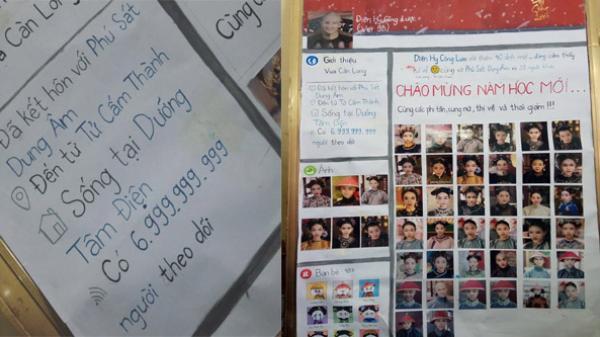 Tờ báo tường của học sinh Hưng Yên: Cả lớp hóa thân thành dàn phi tần, cung nữ Diên Hi Công Lược gây sốt CĐM