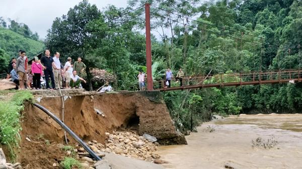 Văn Bàn tiếp tục bị thiệt hại do mưa lũ
