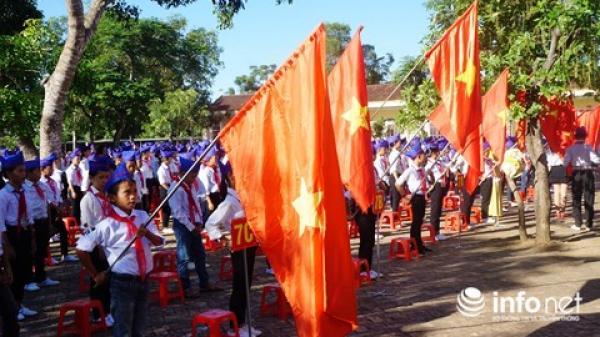 Gần 800.000 học sinh Nghệ An nô nức dự Lễ khai giảng năm học mới