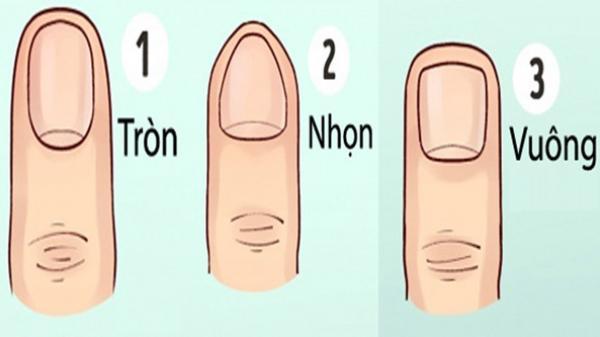 Nhìn vào hình dáng móng tay, có thể đoán biết 90% cuộc đời mình