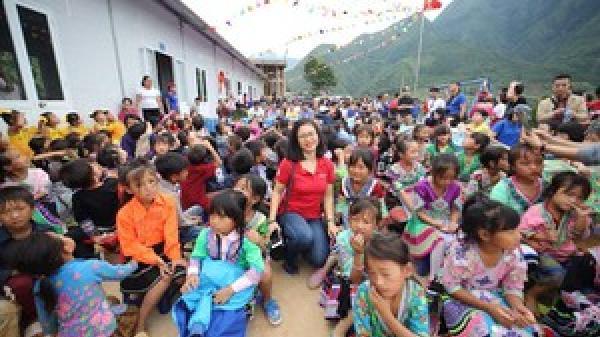Thêm một ngôi trường mới cho học sinh Lai Châu
