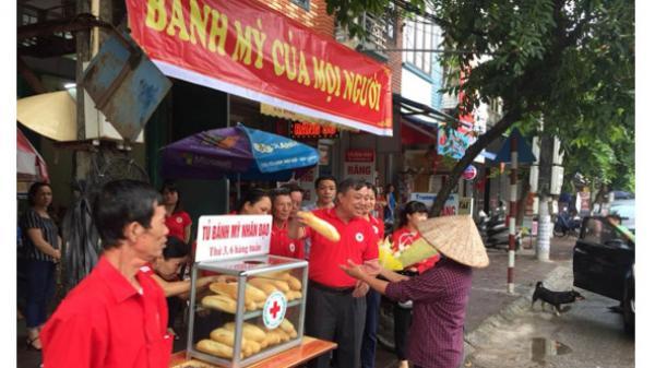 Hưng Yên: Khai trương điểm cấp phát bánh mỳ nhân đạo