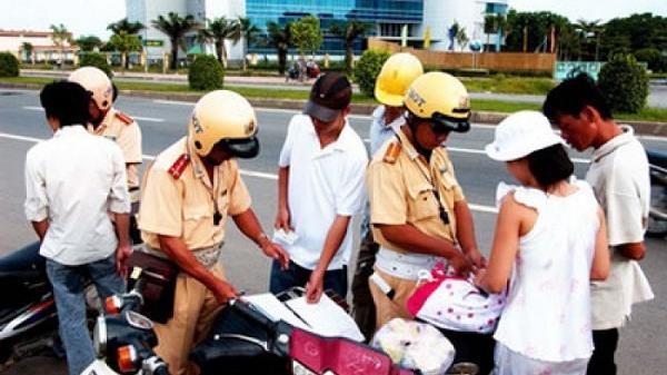 Bình Giang: Xử phạt vi phạm không đội mũ bảo hiểm nhiều nhất tỉnh