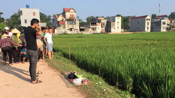 NÓNG: Phát hiện một xác chết ven ruộng lúa ở Lạng Giang (Bắc Giang)