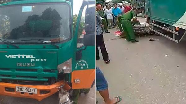 Yên Dũng (Bắc Giang): Đi ăn cỗ cưới, 2 mẹ con tử vong thương tâm dưới bánh xe tải