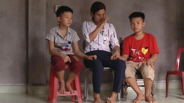 Bắc Giang: Bố mất, mẹ chạy thận 3 lần/tuần, 2 em nhỏ cần lắm những tấm lòng hảo tâm