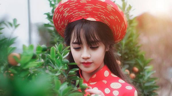 Không thể rời mắt trước hình ảnh xinh đẹp của nữ sinh Học viên Hàng không đến từ Lào Cai