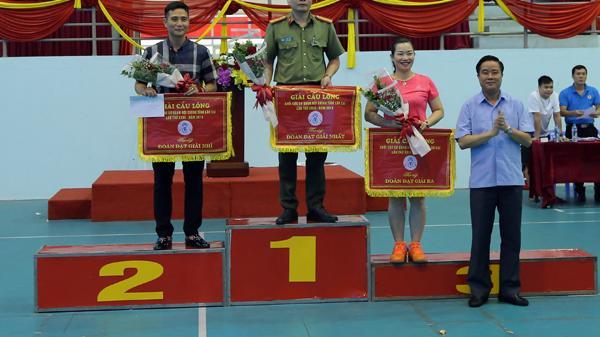 Giải cầu lông Khối Nội chính: Công an tỉnh giành giải Nhất toàn đoàn