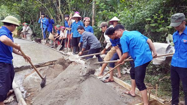 Tuổi trẻ Lào Cai chung tay xây dựng quê hương