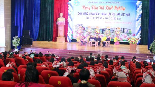 Văn Bàn: Trên 300 hội viên tham gia ngày Phụ nữ khởi nghiệp