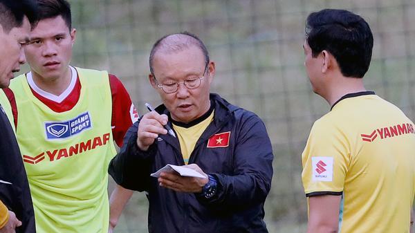HLV Park Hang Seo chính thức loại 5 cầu thủ của đội tuyển Việt Nam