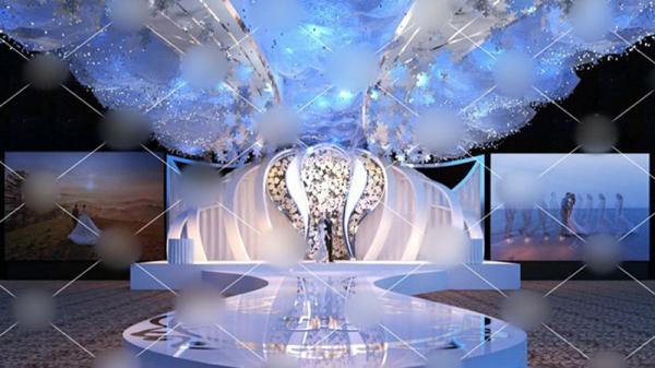 Xôn xao đám cưới trang trí hết 4 tỷ đồng ở miền Bắc, mời cả Đan Trường, Quang Hà về biểu diễn