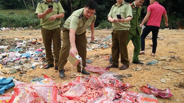 Văn Bàn, Lào Cai t.iêu h.ủy 40 kg hàng hóa nhập l.ậu