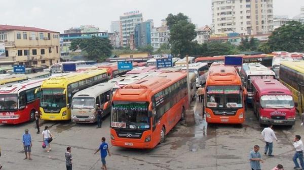 Tăng cường 110 lượt xe dịp cuối năm tại bến xe Mỹ Đình phục vụ tuyến đường từ Hà Nội đi Lào Cai và các tỉnh Tây Bắc