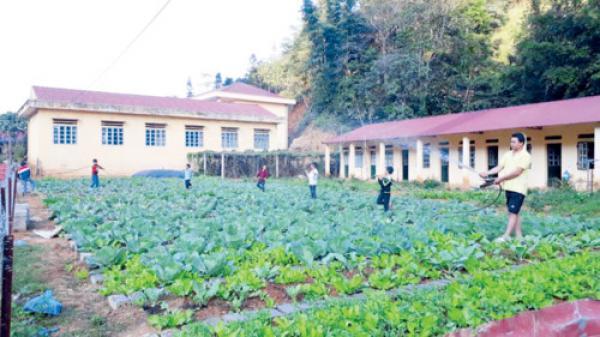 Xây dựng nhà công vụ giáo viên tại Lào Cai: Yên tâm cống hiến