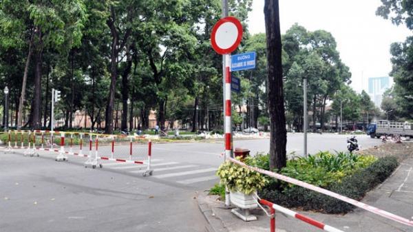 TP. HCM cấm lưu thông xe vào một số tuyến đường trung tâm trong hai ngày cuối tuần