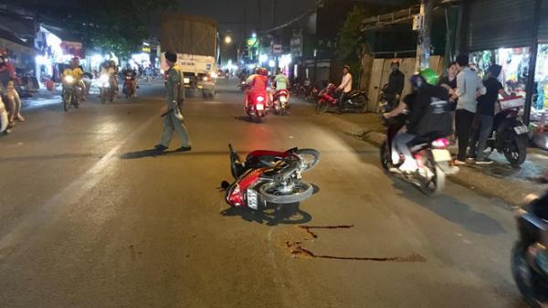 TP.HCM: C.án người trong đêm rồi bỏ chạy, tài xế xe container bị người dân truy đuổi chặn đầu xe