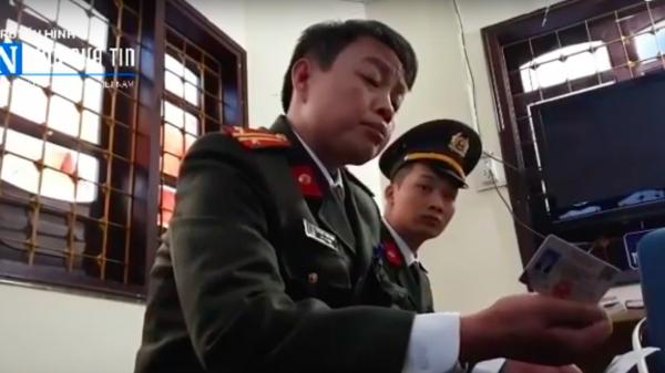Cán bộ CATP Lào Cai thiếu hiểu biết pháp luật, c.ản t.rở báo chí tác nghiệp